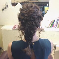結婚式 ヘアアレンジ パーティ アップスタイル ヘアスタイルや髪型の写真・画像