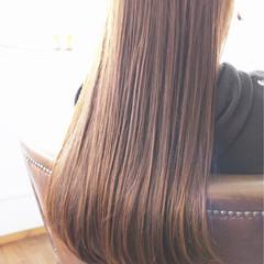 大人女子 ロング トリートメント 上品 ヘアスタイルや髪型の写真・画像