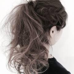 アップスタイル ストリート ヘアスタイルや髪型の写真・画像