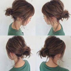 ハイライト ショート ボブ 簡単ヘアアレンジ ヘアスタイルや髪型の写真・画像