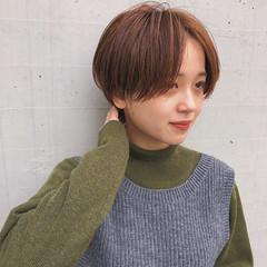 ハイライト ハンサムショート ナチュラル ショート ヘアスタイルや髪型の写真・画像