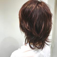 ショート マッシュウルフ ピンクグレージュ マッシュ ヘアスタイルや髪型の写真・画像