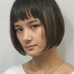 モード ミニボブ ショートボブ 大人女子 ヘアスタイルや髪型の写真・画像