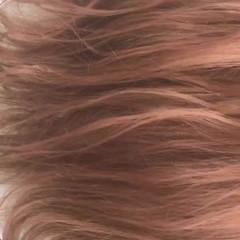 ベージュ ピンク 透明感 ピンクアッシュ ヘアスタイルや髪型の写真・画像