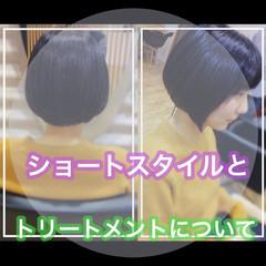 ショートヘア ベリーショート ショート ミニボブ ヘアスタイルや髪型の写真・画像