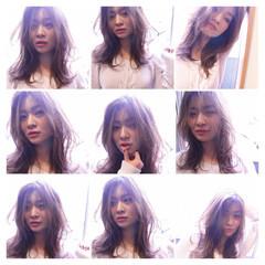 大人かわいい アッシュ 外国人風 ガーリー ヘアスタイルや髪型の写真・画像