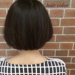 外国人風 ボブ ナチュラル 色気 ヘアスタイルや髪型の写真・画像