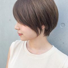 ショートボブ ひし形シルエット ショート 大人ショート ヘアスタイルや髪型の写真・画像