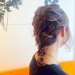ショート 簡単ヘアアレンジ 雨の日 梅雨 ヘアスタイルや髪型の写真・画像