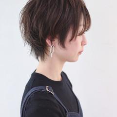 ストリート ショート パーマ マッシュウルフ ヘアスタイルや髪型の写真・画像