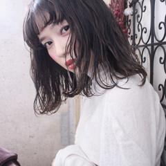 ウェーブ ナチュラル パーマ 外国人風 ヘアスタイルや髪型の写真・画像