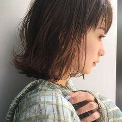 色気 涼しげ ナチュラル アウトドア ヘアスタイルや髪型の写真・画像