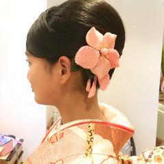 ヘアアレンジ ヘアセット モード 和装髪型 ヘアスタイルや髪型の写真・画像