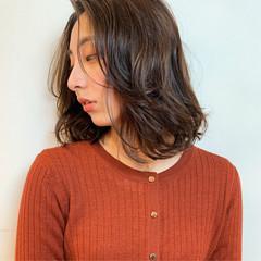 パーマ デジタルパーマ 無造作パーマ モード ヘアスタイルや髪型の写真・画像