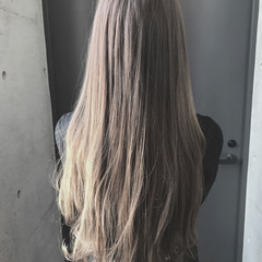 外国人風 ロング 外国人風カラー 透明感 ヘアスタイルや髪型の写真・画像