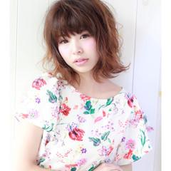 アンニュイ 外国人風カラー ボブ デート ヘアスタイルや髪型の写真・画像