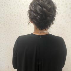 ヘアセット ショート ねじり ショートヘア ヘアスタイルや髪型の写真・画像