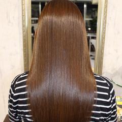 大人女子 艶髪 ストレート 透明感 ヘアスタイルや髪型の写真・画像