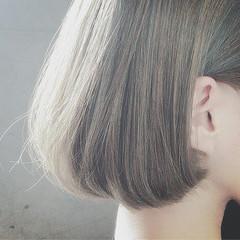 モード ショートボブ かっこいい ボブ ヘアスタイルや髪型の写真・画像