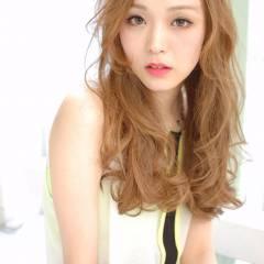 ゆるふわ ストリート 大人かわいい モテ髪 ヘアスタイルや髪型の写真・画像