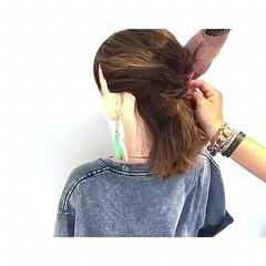 涼しげ オフィス ボブ ヘアアレンジ ヘアスタイルや髪型の写真・画像