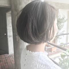 ショート 簡単 似合わせ ナチュラル ヘアスタイルや髪型の写真・画像