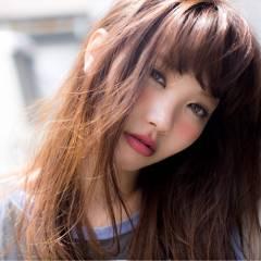 ウェットヘア 外国人風 ロング グラデーションカラー ヘアスタイルや髪型の写真・画像