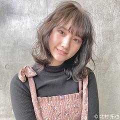 グレージュ シアーベージュ 外ハネボブ ミルクティーグレージュ ヘアスタイルや髪型の写真・画像