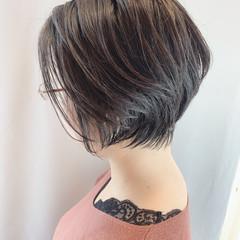 小顔ショート ショートヘア 大人ショート ミニボブ ヘアスタイルや髪型の写真・画像