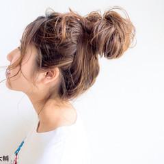 ロング 夏 ナチュラル ヘアアレンジ ヘアスタイルや髪型の写真・画像
