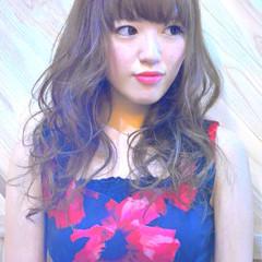 ガーリー ゆるふわ ロング 渋谷系 ヘアスタイルや髪型の写真・画像