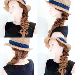 セルフヘアアレンジ ダウンスタイル ヘアセット ヘアアレンジ ヘアスタイルや髪型の写真・画像