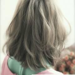 ロング 外国人風 スモーキーカラー コンサバ ヘアスタイルや髪型の写真・画像