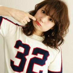 ミディアム コンサバ モテ髪 愛され ヘアスタイルや髪型の写真・画像
