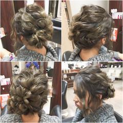 セミロング ゆるふわ ヘアアレンジ 渋谷系 ヘアスタイルや髪型の写真・画像