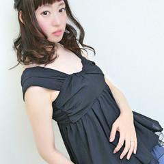 ミディアム ピュア フェミニン ゆるふわ ヘアスタイルや髪型の写真・画像