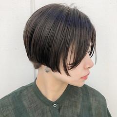 ハンサムショート 外国人風カラー ナチュラル ショート ヘアスタイルや髪型の写真・画像