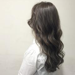 大人かわいい グラデーションカラー 外国人風 ガーリー ヘアスタイルや髪型の写真・画像