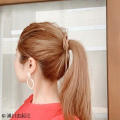 ナチュラル デート モテ髪 ヘアアレンジ ヘアスタイルや髪型の写真・画像