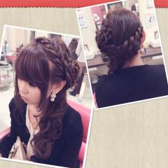 コンサバ フェミニン ロング 甘め ヘアスタイルや髪型の写真・画像