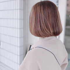 コントラストハイライト ハイライト エレガント スライシングハイライト ヘアスタイルや髪型の写真・画像