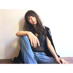 大人かわいい 暗髪 ゆるふわ 外国人風 ヘアスタイルや髪型の写真・画像