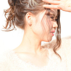 ヘアアレンジ 愛され かわいい モテ髪 ヘアスタイルや髪型の写真・画像