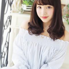 大人女子 セミロング かっこいい ピュア ヘアスタイルや髪型の写真・画像