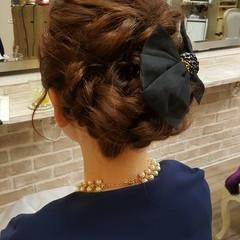上品 モテ髪 結婚式 デート ヘアスタイルや髪型の写真・画像