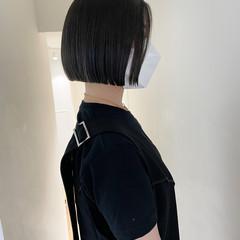 ナチュラル ショートヘア ボブ ショートボブ ヘアスタイルや髪型の写真・画像