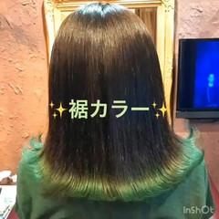 アウトドア ミディアム ガーリー スポーツ ヘアスタイルや髪型の写真・画像