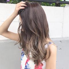 ハイライト アンニュイ デート ロング ヘアスタイルや髪型の写真・画像