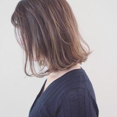外国人風カラー グラデーションカラー 外ハネ 愛され ヘアスタイルや髪型の写真・画像