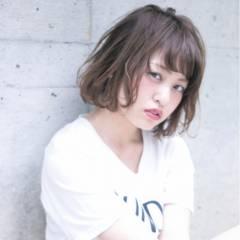 グラデーションカラー ストリート ボブ 外国人風カラー ヘアスタイルや髪型の写真・画像